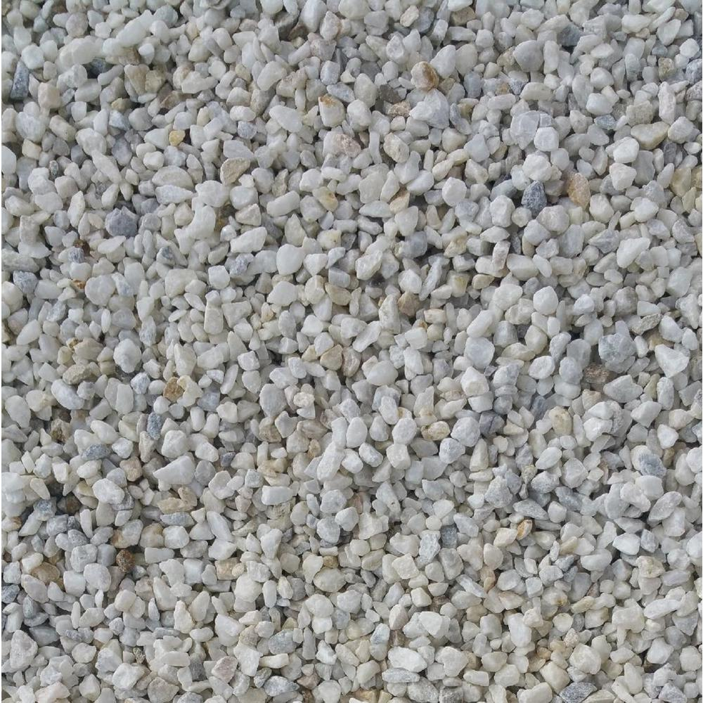 0.50 cu. ft. 40 lbs. 3/4 in. Smokey Mountain Quartz Decorative Landscaping Gravel